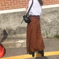 lap straight skirt