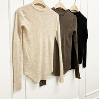 Crewneck Slim Knit