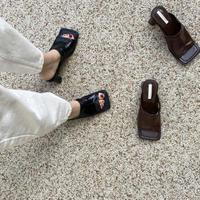 Square Sandal (4Color)