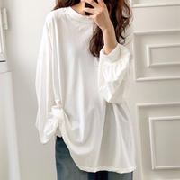 Arm Puff Long T-shirts (2Color)