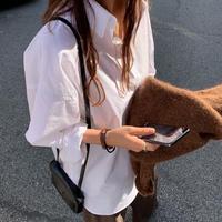 long simpleslit shirt