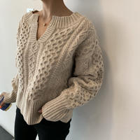 Twisted Lambswool Knit