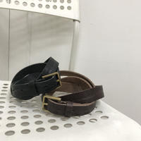 simple leather belt