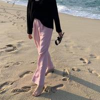 Linen slacks pants(3Color)