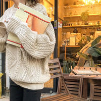 over vintage   cable over knit