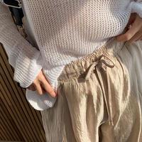Wrinkled Pants(2Color)