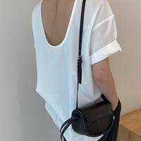 Back Open Blouse (2Color)