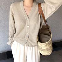 Linen Cardigan (2Color)