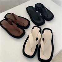 Leather Sandal (3Color)