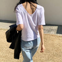 Backless lose T (3color)