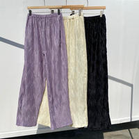Pleats Pants (3Color)