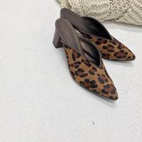 real leopard mule