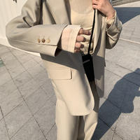 〔 l i m i t e d - l i n e 〕  Daily simple Jacket (Beige)