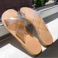 Flat Clear Sandal