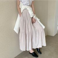 All Season Satin Skirt (3color)