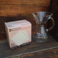 ケメックスコーヒーメーカーのフィルター(6カップ用)