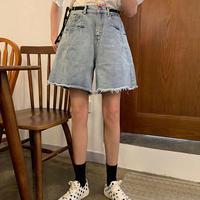 夏 韓国風 ストリーム 新しいデザイン 何でも似合う レジャー ファッション 調整可能