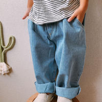 (即納)big pocket tack denim