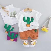 cactus tee , shorts