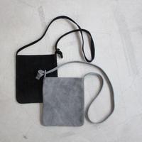 【stanyan】ミニレザーバッグ / グレー・ブラック