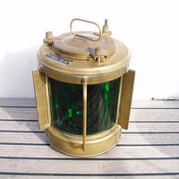 古い航海燈 右舷燈 スターボードライト