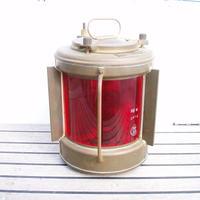 古い航海燈 左舷燈 ポートライト