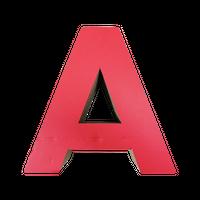アルファベットスクラッチ(alphabet scratch)