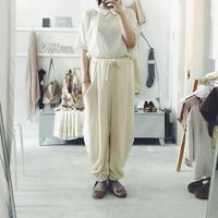 sou-mu  cotton pants