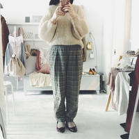 used  checked pants