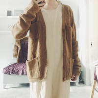 used  pocket knit cardigan