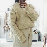 used John Molloy   écru knit