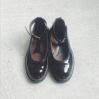 used  MARNI enamel strap shoes