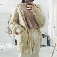 used hooded knit