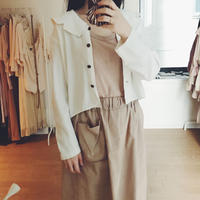 used design color white blouse
