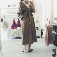 kaiki 千鳥チェック coat