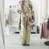 Edwina Horl  fake fur coat