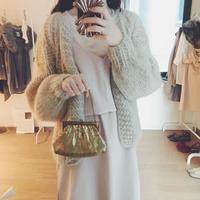 gold  mini bag