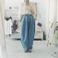 HARVESTY circus pants , sax denim