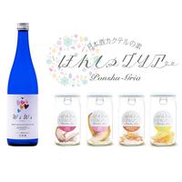 【ギフトBOX入り】白ワインみたいにジューシーな日本酒~ワイン酵母仕込み(WiWi) x ぽんしゅグリア ギフト(720ml日本酒1本+ぽんしゅグリア4本)