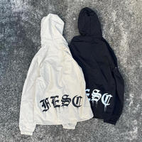 "FESC ""F-LOGO""HOODED COACH JACKET[2COLOR]"
