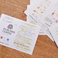 「演出覚書」ポストカードセット(全9種)