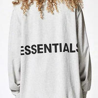 FOG Essentials BOXY L/S T-SHIRTS / GRAY