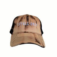 LOYALS ONLY   ( ロイヤルズ オンリー ) Bleached Logo cap 4 ブリーチ ロゴキャップ  4