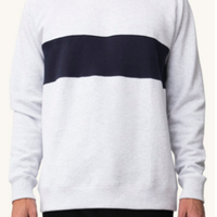 (Pleasant)retro melange sweat