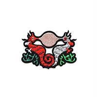 """MACON & LESQUOY マコン・エ・レスコア ÉCUSSON """"HIPPOCAMPE & BUBBLE GUM"""" パッチ"""