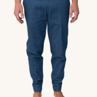 (Pleasant)DENIM CUFF PANTS