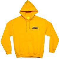 (ロイヤルズ オンリー) LOYALS ONLY  HOTLINE HOODIE yellow フード パーカ