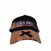 LOYALS ONLY   ( ロイヤルズ オンリー ) Bleached Logo cap 3 ブリーチ ロゴキャップ  3