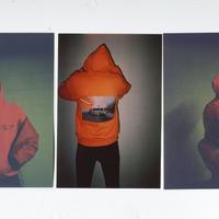 (ロイヤルズ オンリー) LOYALS ONLY ACAB HOODIE safety orange フード パーカー