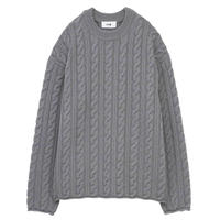 K609  上代¥31,900  CUT OFF CABLE CREW
